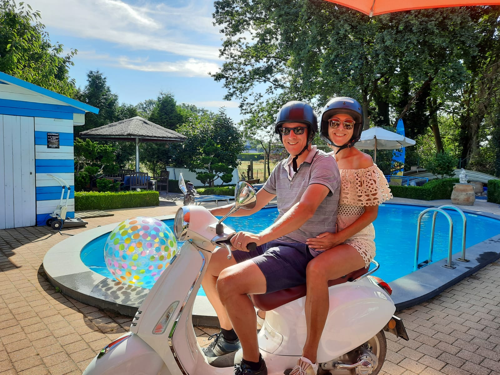 Casa Roman Deluxe - Vespa package for 2 people